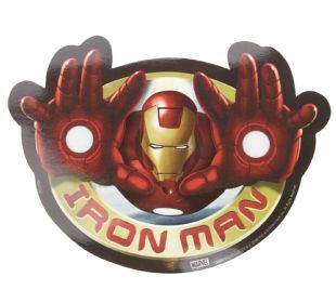Iron Man - Flying (Sticker)