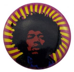 Jimi Hendrix - Psychedelic (25mm Button Badge)