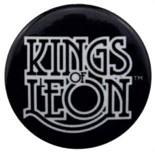 Kings of Leon - Scroll Logo (25mm Button Badge)