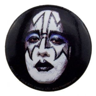 Kiss - Ace Frehley Headshot (25mm Button Badge)
