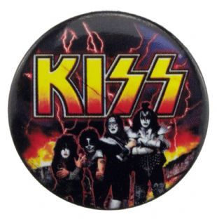 Kiss - Destroyer (38mm Button Badge)