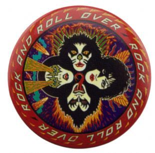 Kiss - Rock And Roll Over (38mm Button Badge)
