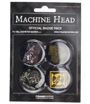 Machine Head - Official Button Badge Pack