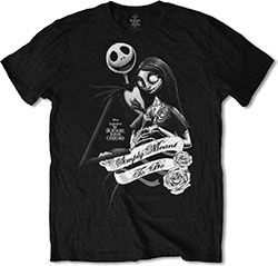 Nightmare Before Christmas Jack and Sally T-shirt