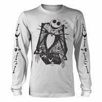 Nightmare Before Christmas Jack Skellington Long Sleeve T-shirt (1)