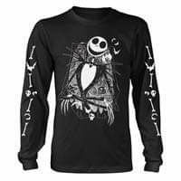 Nightmare Before Christmas Jack Skellington Long Sleeve T-shirt