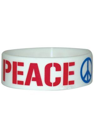 Peace - Rubber Wristband