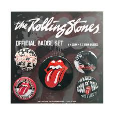 Rolling Stones (The) - Badge Set