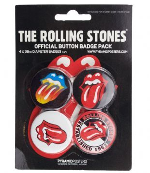 Rolling Stones (The) - Official Button Badge Pack