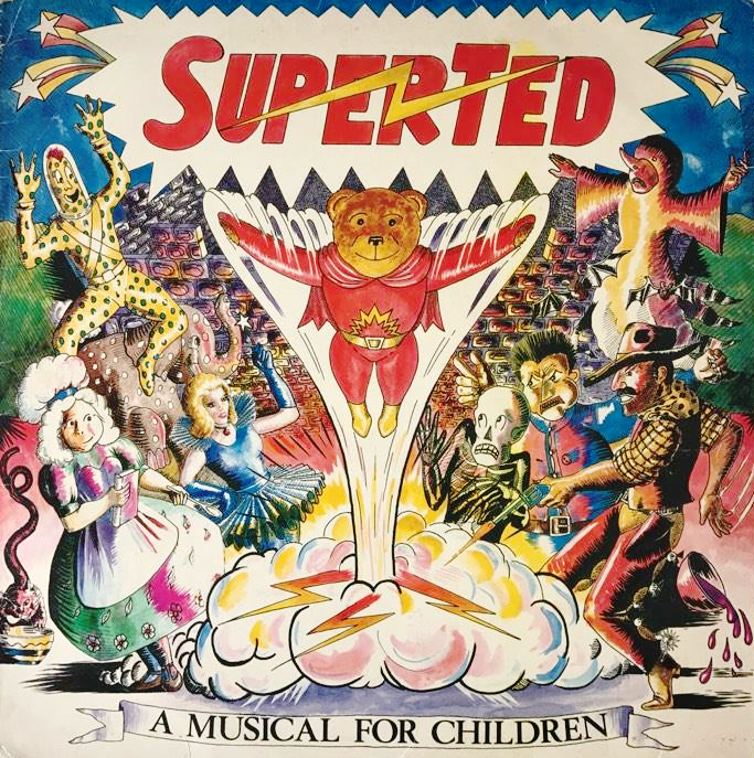 Superted A Musical For Children Lp G G