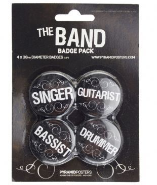 The Band - Official Button Badge Pack