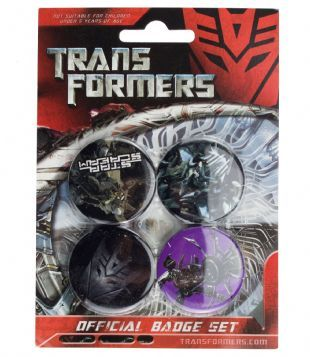 Transformers: Decepticon - Official Button Badge Pack