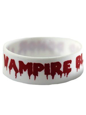 Vampire Blood - Rubber Wristband